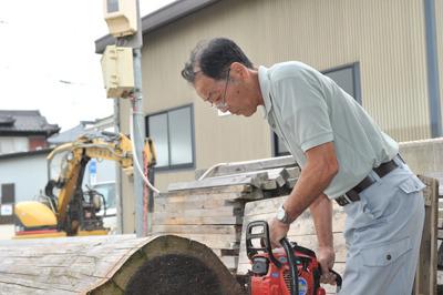 STEP7 基礎工事・木材調達